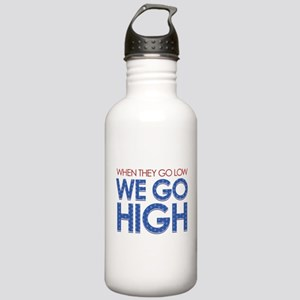 They Go Low, We Go Hig Stainless Water Bottle 1.0L