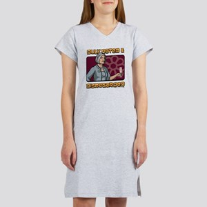 Archer Malory Duly Noted Women's Nightshirt