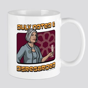 Archer Malory Duly Noted Mug