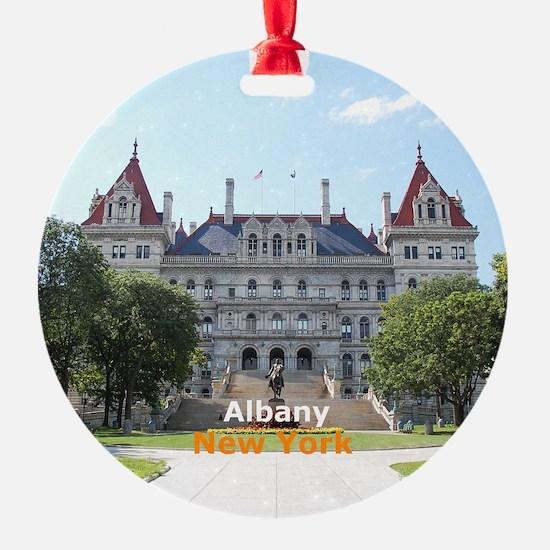 Albany New York Ornament