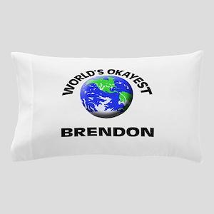 World's Okayest Brendon Pillow Case