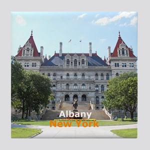 Albany New York Tile Coaster