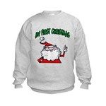 Baby's First Christmas Kids Sweatshirt