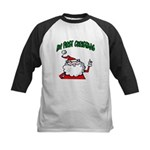 Baby's First Christmas Kids Baseball Jersey