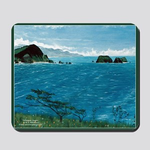 Oceanside Oregon Scenic Mousepad
