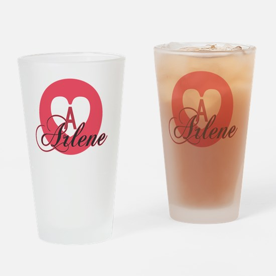 Unique Arlene Drinking Glass
