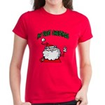 Baby's First Christmas Women's Dark T-Shirt