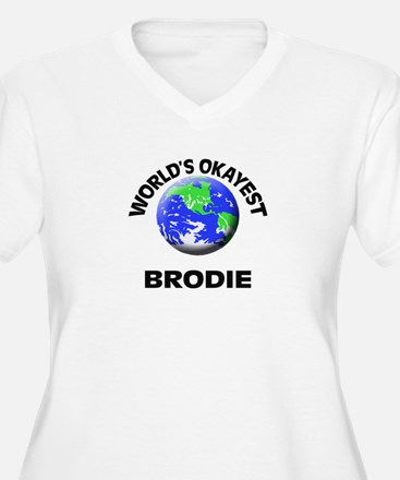 World's Okayest Brodie Plus Size T-Shirt