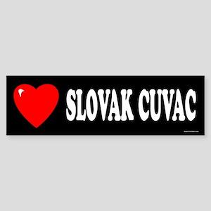 SLOVAK CUVAC Bumper Sticker