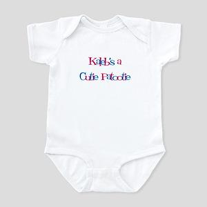 Kaleb's a Cutie Patootie Infant Bodysuit