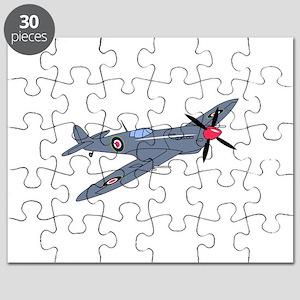 Spitfire Plane Puzzle