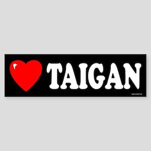 TAIGAN Bumper Sticker