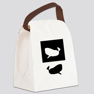 Spermwhales Canvas Lunch Bag