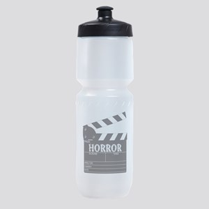 Clapper Board Horror Sports Bottle