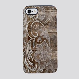 western country lace barnwoo iPhone 8/7 Tough Case