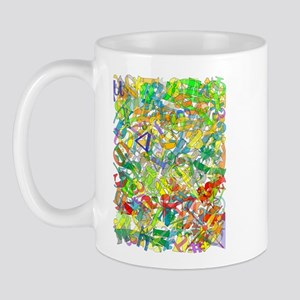 LettersARTposter Mugs