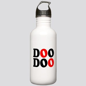 DOO DOO:- DROP A LOG! Stainless Water Bottle 1.0L