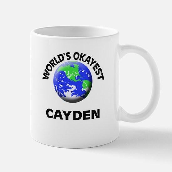 World's Okayest Cayden Mugs