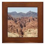 Valley of Fire State Park Framed Tile