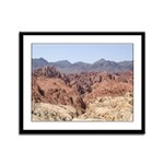 Valley of Fire State Park Framed Panel Print