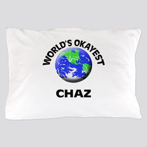 World's Okayest Chaz Pillow Case