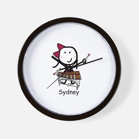 Xylophone - Sydney Wall Clock