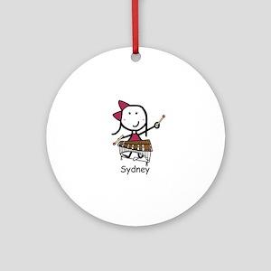 Xylophone - Sydney Ornament (Round)
