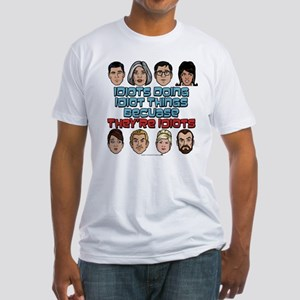 Archer Idiots Fitted T-Shirt