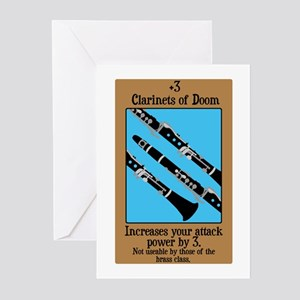 Clarinets of Doom Greeting Cards (Pk of 10)