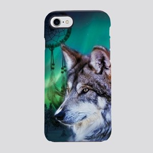 dream catcher northern light iPhone 8/7 Tough Case
