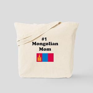 #1 Mongolian Mom Tote Bag