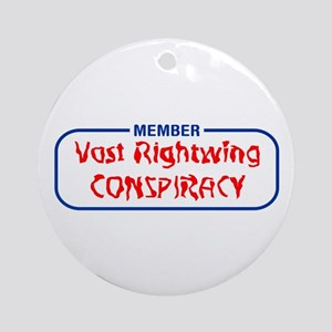 Vast Rightwing Conspiracy Ornament (Round)