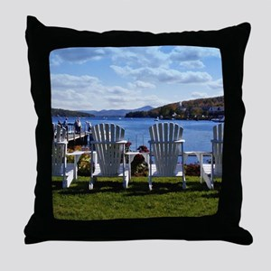 Meradith New Hampshire Scenic Throw Pillow