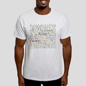 A Christmas Carol Word Cloud T-Shirt