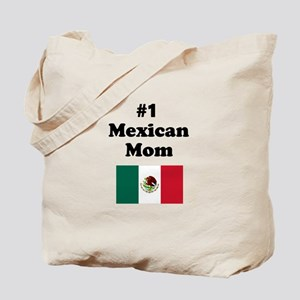 #1 Mexican Mom Tote Bag