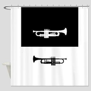 Trumpets Shower Curtain