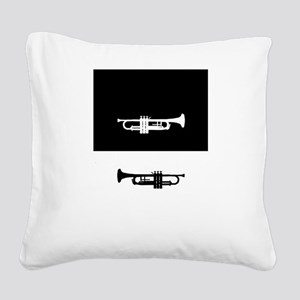 Trumpets Square Canvas Pillow
