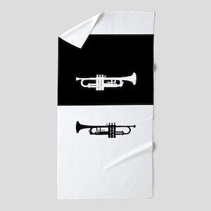 Trumpets Beach Towel
