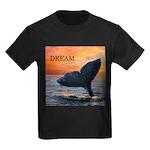 WHALE DREAMS Kids Dark T-Shirt