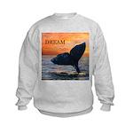 WHALE DREAMS Kids Sweatshirt