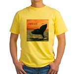 WHALE DREAMS Yellow T-Shirt