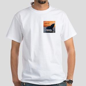 WHALE DREAMS White T-Shirt