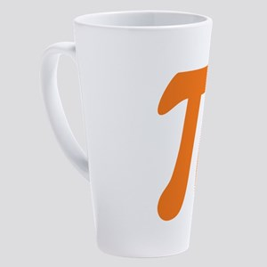 Orange Pi Symbol 17 oz Latte Mug