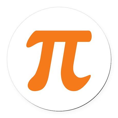Orange Pi Symbol Round Car Magnet