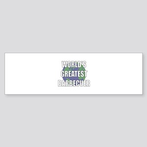 World's Greatest Barbecuer Bumper Sticker