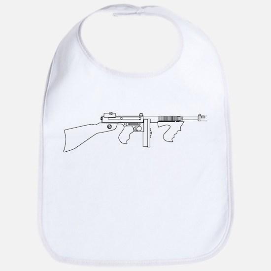 Gangster Tommy Gun Bib