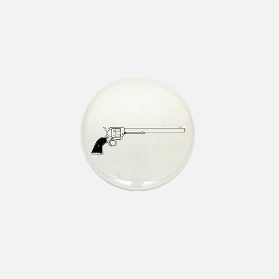 Wyatt Earpl Six Gun Mini Button