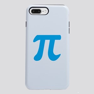 Blue Pi Symbol iPhone 8/7 Plus Tough Case