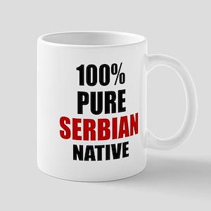 100 % Pure Serbian Native Mug