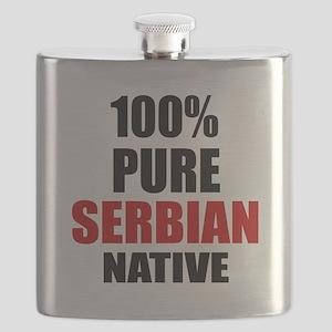 100 % Pure Serbian Native Flask